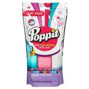 Poppit utántöltő - zöld, rózsaszín, fehér