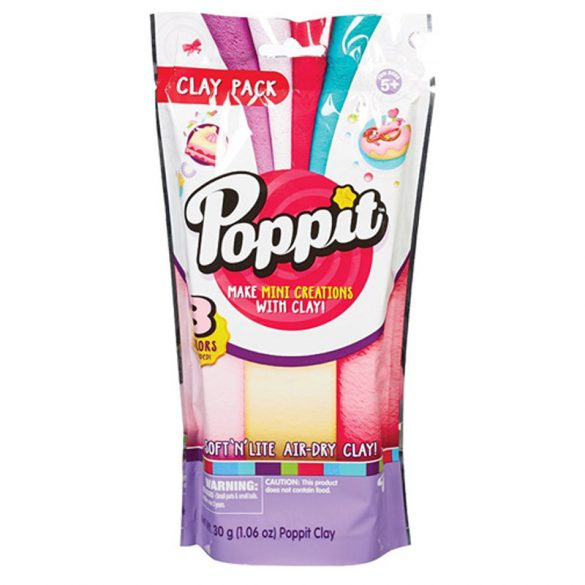 Poppit utántöltő - pink, fehér, rózsaszín