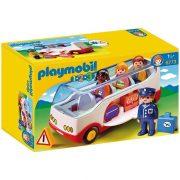 Playmobil 1-2-3 6773 Reptéri kisbusz