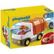Playmobil 1-2-3 6774 Az első kukásautóm