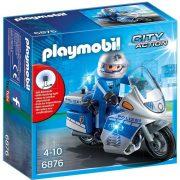 Playmobil City Action 6876 Rendőrmotoros