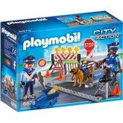 Playmobil City Action 6878 Rendőrségi útlezárás