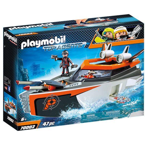 Playmobil Top Agents 70002 A Spy Team hadihajója
