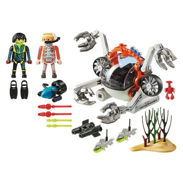 Playmobil Top Agents 70003 A Spy Team tengeralattjárója