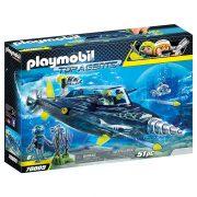 Playmobil Top Agents 70005 A Team S.H.A.R.K. Fúró rombolója