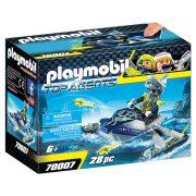 Playmobil Top Agents 70007 A Team S.H.A.R.K. Rakétavetõ Jet ski-je