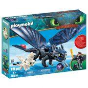 Playmobil Dragons 70037 Hablaty és Fogatlan bébisárkánnyal