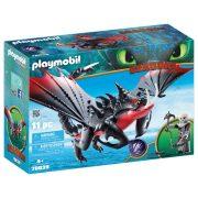 Playmobil Dragons 70039 Halálfogó és Morgol