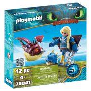 Playmobil Dragons 70041 Astrid Hobgobblerrel és szárnyakkal