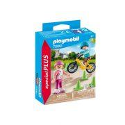 Playmobil Special Plus 70061 Görkorizó és bicikliző gyerekek