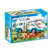 Playmobil Family Fun 70088 Családi lakókocsi