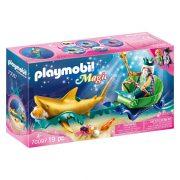 Playmobil Magic 70097 A tenger királya cápahintóval
