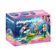 Playmobil Magic 70100 Sellőcsalád kagylóbabakocsival