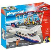 Playmobil City Action 70114 Repülőtér repülővel