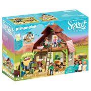Playmobil Spirit 70118 Lucky, Prudi és Abigél istállója