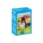 Playmobil Country 70136 Házőrző kutyaházzal