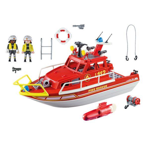 Playmobil City Action 70147 Tűzoltóhajó