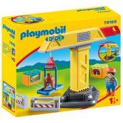 Playmobil 1-2-3 70165 Építési daru