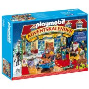 Playmobil Adventi naptár 70188 Karácsony a játékboltban