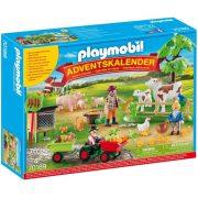Playmobil Adventi naptár 70189 A tanyán