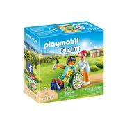 Playmobil City Life 70193 Kerekesszékben a beteg