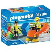 Playmobil City Life 70203 Utcaseprő autó