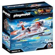 Playmobil Top Agents 70234 A Spy Team vitorlás repülője