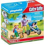 Playmobil City Life 70284 Anyuka gyerekekkel
