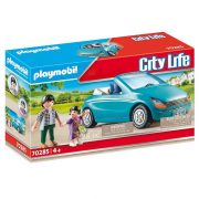 Playmobil City Life 70285 Apuka és kislánya kabrióval