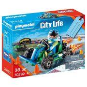 Playmobil City Life 70292 Ajándékszett - Gokart verseny