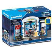 Playmobil City Action 70306 Rendőrállomás játékdoboz