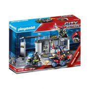Playmobil City Action 70338 Speciális egység hordozható központja (SWAT központ)