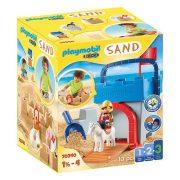 Playmobil 1.2.3. Sand 70340 Homokvár kreatív szett