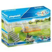 Playmobil Family Fun 70348 Bővítmény állatkerthez