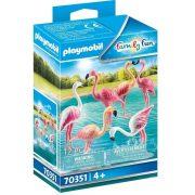 Playmobil Family Fun 70351 Flamingó csapat