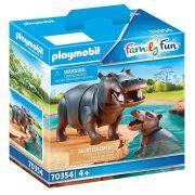 Playmobil Family Fun 70354 Víziló kicsinyével