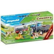Playmobil Country 70367 Pótkocsis traktor víztartállyal