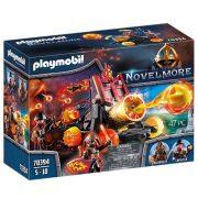 Playmobil Novelmore 70394 Burnham láva katapultja