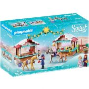 Playmobil Spirit 70395 Karácsony Miraderoban