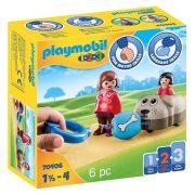 Playmobil 1-2-3 70406 Kutyasétáltatás