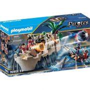 Playmobil Pirates 70413 Piros zubbonyos katonák erődje