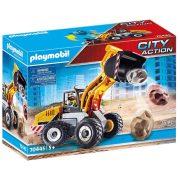 Playmobil City Action 70445 Kerekes homlokrakodó