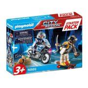 Playmobil City Action Starter Pack 70502 Rendõrség kiegészítõ szett