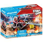 Playmobil Stuntshow 70554 Tûzoltó gokart