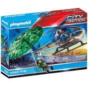 Playmobil City Action 70569 Rendõrségi helikopter: Ejtõernyõs-üldözés