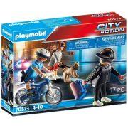 Playmobil City Action 70573 Rendõrségi bicikli: Zsebtolvaj nyomában