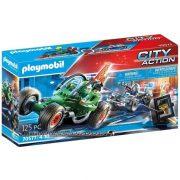 Playmobil City Action 70577 Rendõrségi gokart: Széfrabló nyomában
