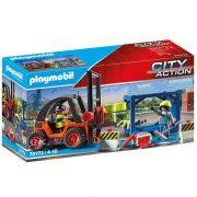 Playmobil City Action 70772 Targonca szállítmánnyal