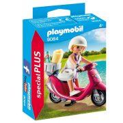 Playmobil Special Plus 9084 Lány robogón