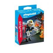 Playmobil Special Plus 9093 Tűzoltó égő fával